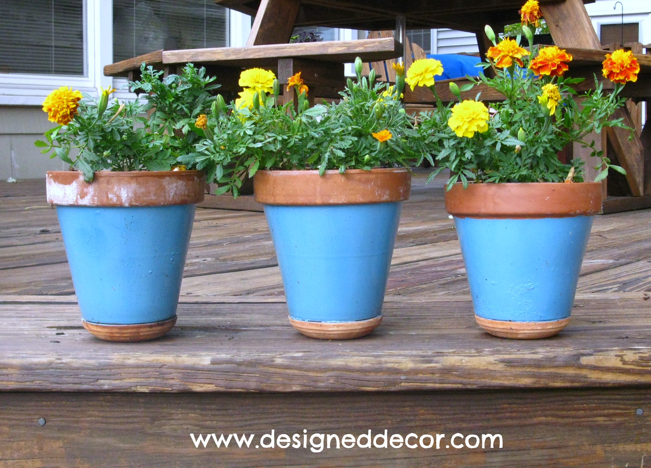 Painting Clay Pots Designed Decor