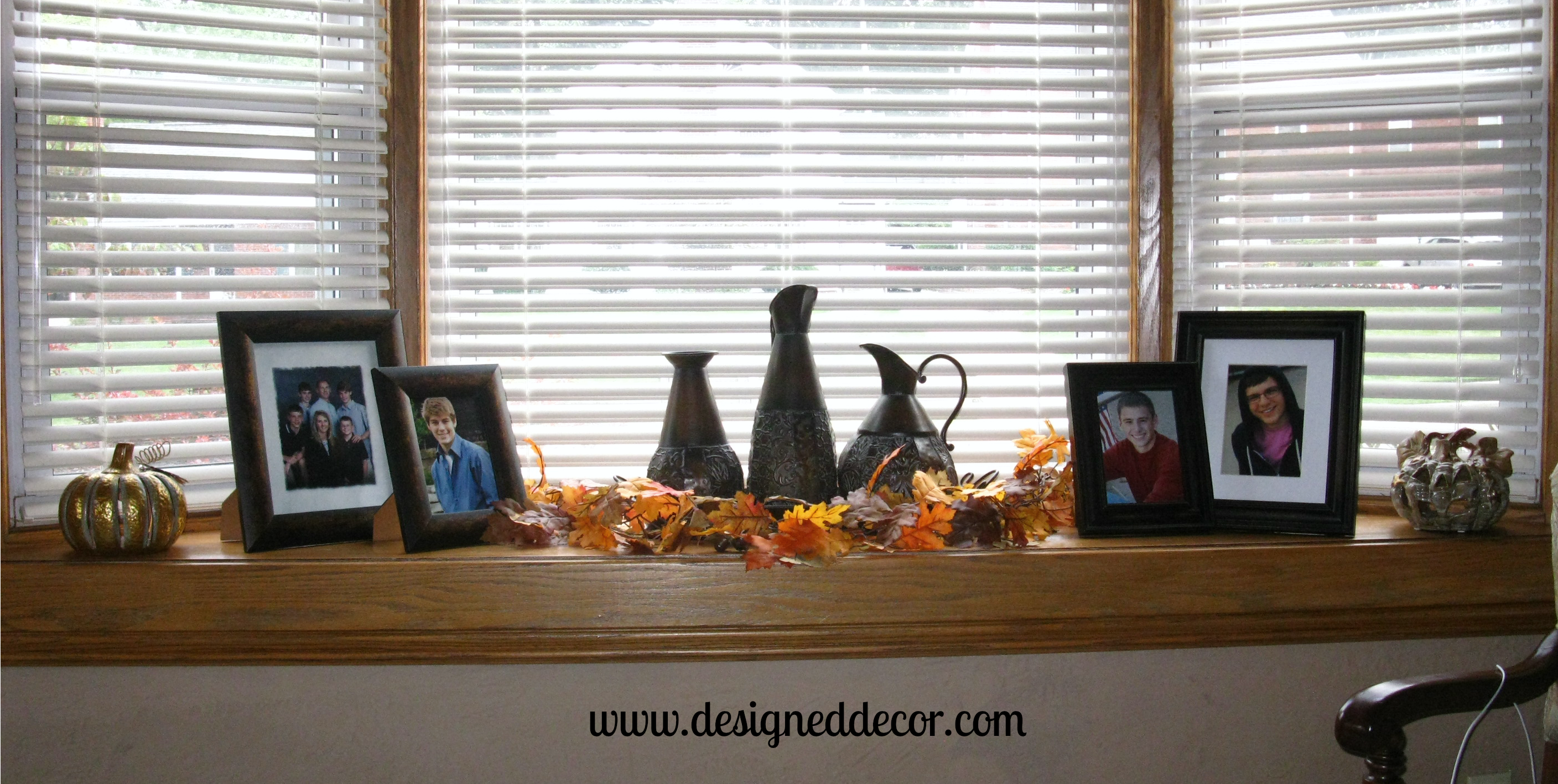 Transitioning To Fall Designed Decor