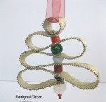 Zipper Tree Ornament