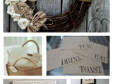 One Item Wednesday – Burlap!