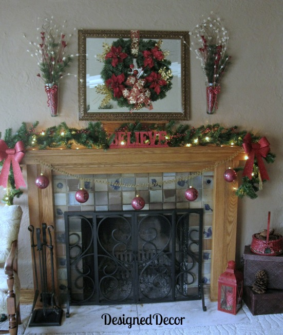 Christmas Mantle 2012