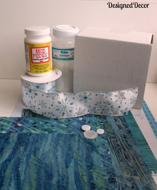 Creative gift wrap supplies